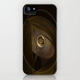 One-eye girl iPhone Case