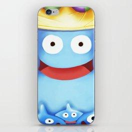Slime King iPhone Skin