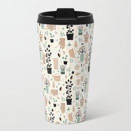 Spring time - Fabric pattern Travel Mug