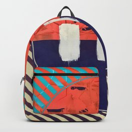 Stitch in Time - circle graphic Backpack