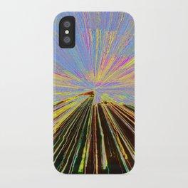 0255 bent iPhone Case