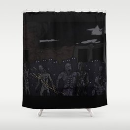 Husks Shower Curtain