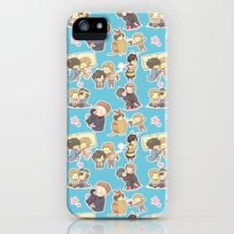 Chibilock Pattern iPhone Case