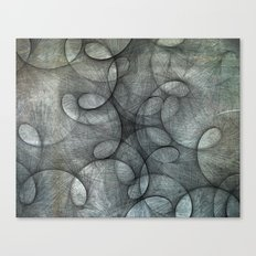 She Had Trouble Focusing Canvas Print