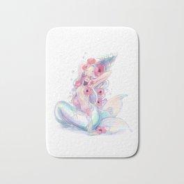 Sleepy Mermaid Bath Mat