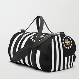 Fox Nerd - Flag Duffle Bag