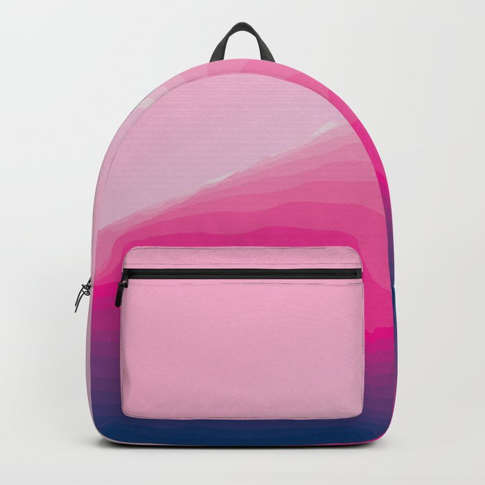 iso mountain slope Backpack