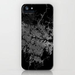 Sydney map Australia iPhone Case