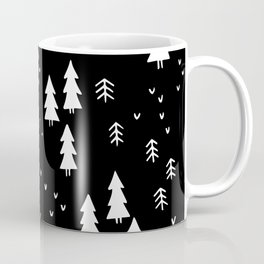 Woods in Black Coffee Mug