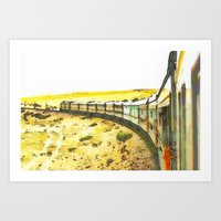 train Art Prints featuring Train by Mr and Mrs Quirynen