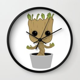 Little Groot Wall Clock