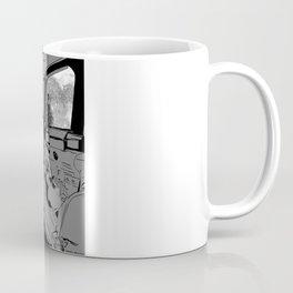SpaceJet (B/W) Coffee Mug