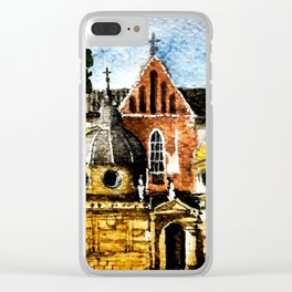 Wawel Clear iPhone Case