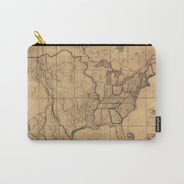 Map of the United States by John Melish (1818) 3rd State Carry-All Pouch