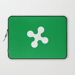 flag of lombardy Laptop Sleeve