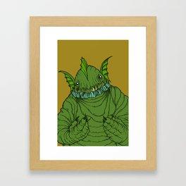 Dagon wants a hug Framed Art Print
