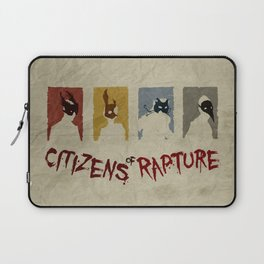 Bioshock - Citizens of Rapture Laptop Sleeve
