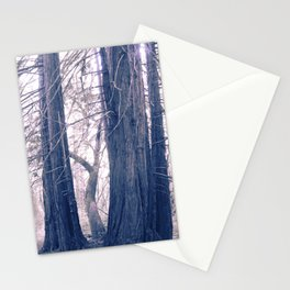 gentle pink rewoods Stationery Cards