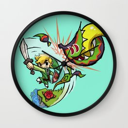 Legend of Zelda Wind Waker Boko Baba T-Shirt Wall Clock