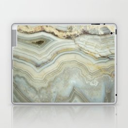 White Agate Laptop & iPad Skin