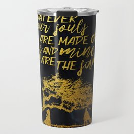 Wuthering Heights - Souls - Gold Foil Travel Mug