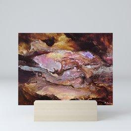 Le serpent des ténèbres Mini Art Print