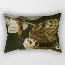 171 Barn Owl Rectangular Pillow
