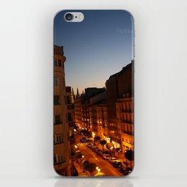 Twilight in Burgos, Spain iPhone Skin