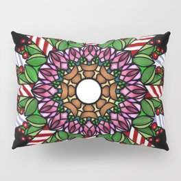 Candle wreath Pillow Sham