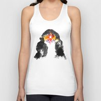 muscle Tank Tops featuring Muscle Girl by Arian Noveir