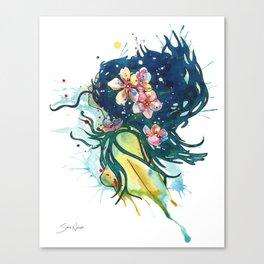Beach Goddess Canvas Print