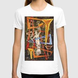 Monumental geometric T-shirt