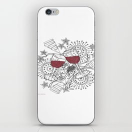 Zentangle Celebrate Everything iPhone Skin