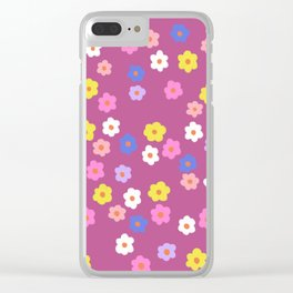 Spring time #4 Clear iPhone Case