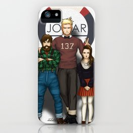 Hanz, Abel and Madeleine iPhone Case