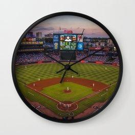 Turner Field Wall Clock