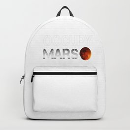 Occupy Mars SpaceX Elon Musk Backpack