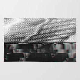 Landscape fome TV Screen Glitch #1 Rug