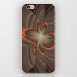 Wood flower 2 iPhone Skin