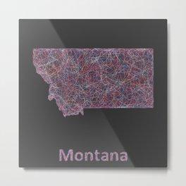 Montana Metal Print