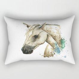 Palomino Horse - Sundance Rectangular Pillow