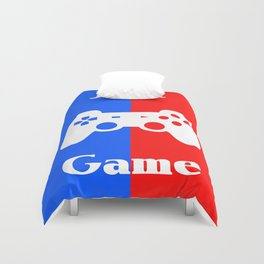 Just Game Duvet Cover