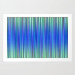 Lines 102 Art Print