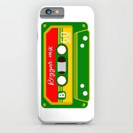 REGGAE MIX TAPE iPhone Case