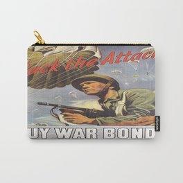 Vintage poster - War Bonds Carry-All Pouch