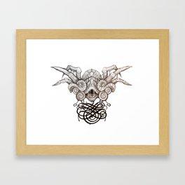 Cognitive Hazard VII Framed Art Print