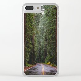 Avenue of The Giants Clear iPhone Case
