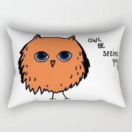 I'll Be Seeing You Rectangular Pillow