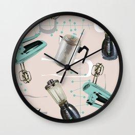 Fifties Kitchen Eggshell Wall Clock