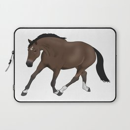 Trotting Horse Laptop Sleeve